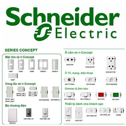 Ưu điểm của thiết bị điện Schneider