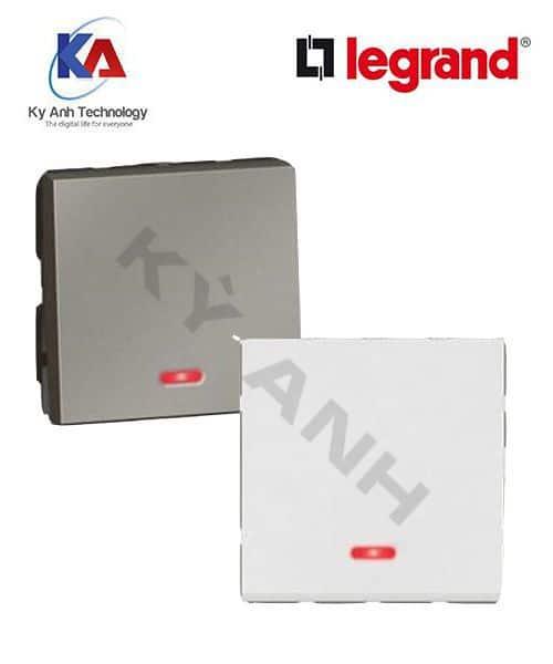 Hạt Ổ công tắc đơn 1 chiều 2M Arteor Legrand có dạ quang