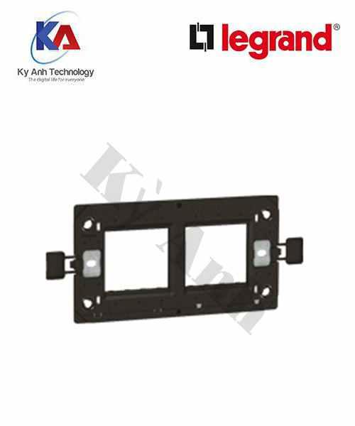 khung đỡ vuông đôi legrand 4 module