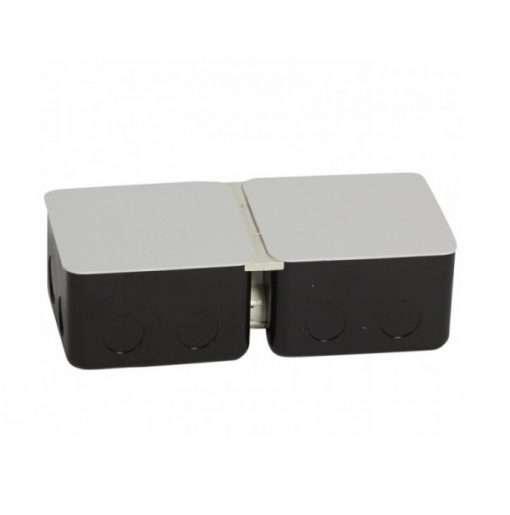 đế đôi ổ cắm âm sàn legrand 2x3 module